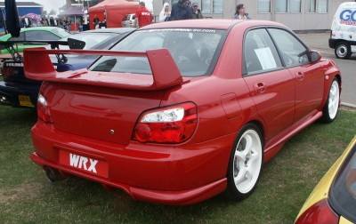 Subaru WRX Red : click to zoom picture.